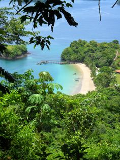 Isla #Coiba, part of the Cobia National Park. A UNESO World Hertiage Site off the western Pacific coast of Panama.