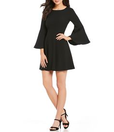 Shop for H Halston Bell Sleeve Trapeze Dress at Dillards.com. Visit Dillards.com to find clothing, accessories, shoes, cosmetics & more. The Style of Your Life.