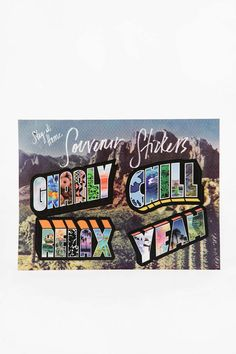 Souvenir Sticker Pack - Urban Outfitters
