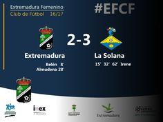 2da División | Jornada 8  Extremadura 2-3 FF La Solana  El equipo de Almendralejo no pudo sumar ante La Solana, equipo de Ciudad Real que aprovechó el gran partido de su delantera Irene que hizo hat-trick   #EFCF #futfem