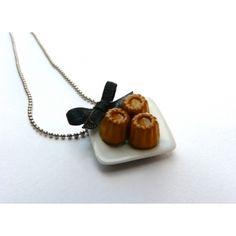 #chezlaurette #jewelry #cannelés #necklace