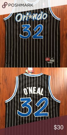 7679194bb0e Shaq Orlando Magic Retro Throwback Jersey NWT Brand New w Tags Mens Size  Medium Shaq #
