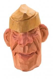 Soldier face - Wood Carving Illustrated