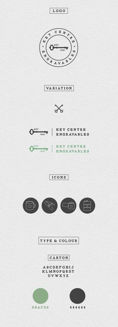 Key Centre Engravables by Wild and Light, via Behance