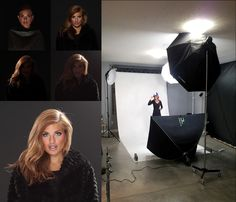 4 light set up with each light on individually .. final blended light shaping below, this set up basically is clam shell with 2 rear kickers for hair.. finished shot here www.flickr.com/photos/-phamster-/6891065891/in/photostream