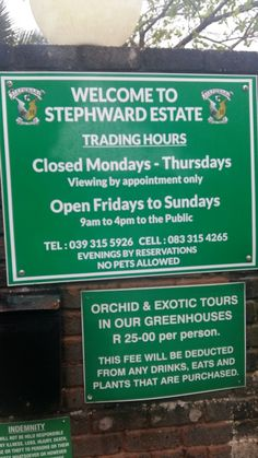 Stephward Estate new trading hours Kwazulu Natal, South Africa, Coast, Restaurant, Diner Restaurant, Restaurants, Dining