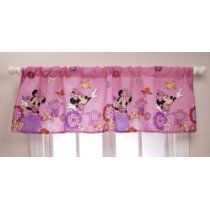 Disney Minnie Mouse Valance http://www.squidoo.com/kids-bedroom-decorating-ideas