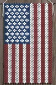 American Glory Beaded Banner Kit The Beadery Craft Products - $18.99