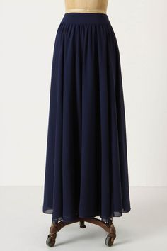 Lengthening Rays Skirt, $128 at Anthropologie. Chiffon with Polyester lining.