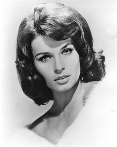 Senta Berger (born in 1941 in Vienna, Austria), film star of the 60s and later
