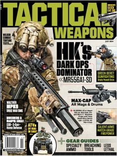 SNEAK PEEK at the cover of the TACTICAL WEAPONS JULY 2014 issue...hits newsstands May 20th.