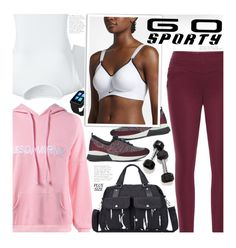 """""""Sporty: Statement Hoodie (plus size)"""" by beebeely-look ❤ liked on Polyvore featuring Lands' End, Dune, NIKE, sporty, sammydress, plussize, statementtshirt and sportystyle"""