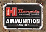 Hornady® Ammunition Tin Sign