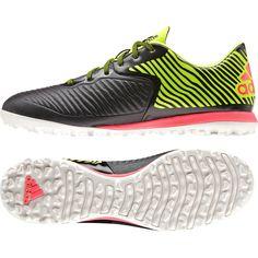 best service eaac7 7a066 Adidas Futsal Outdoor Turf Shoes Soccer Men X 15.2 CG BlackFlash Yellow  B27119