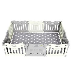 Assemble a fun play space for your little one with the BABYCARE Funzone Playpen. The grey assortment includes a variety of panels and a swinging door to create a delightful place for your child to play safely. Toddler Play Yard, Toddler Playpen, Baby Play Yard, Baby Gate Play Area, Baby Play Areas, Baby Playroom, Baby Room, Baby Play Pin, Home Childcare