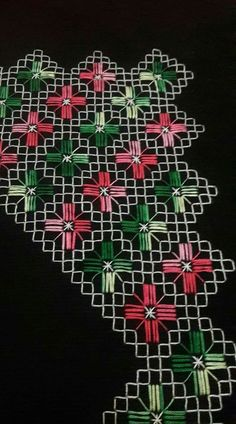 Discover thousands of images about Seccade Modelleri - - Baby Embroidery, Hand Embroidery Stitches, Knitting Stitches, Cross Stitch Embroidery, Machine Embroidery Designs, Embroidery Patterns, Cross Stitch Borders, Cross Stitch Flowers, Cross Stitch Patterns