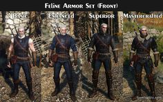 Witcher Armor Set Looks – Visual Comparison On Each Tier – Gaming Gix