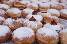 TOP 5 receptov na šišky Top 5, Pretzel Bites, Doughnuts, Hamburger, Muffin, Bread, Cookies, Breakfast, Hanukkah