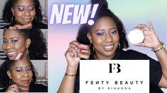 NEW #FENTYBEAUTY POWDER FOUNDATION & NEW FENTY CREAM GLOSS BOMBS | #KaysWays - YouTube