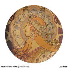 Art Nouveau Plate