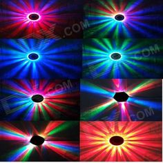 XL-17 8W 48-LED RGB Sound-Activated Sunflower Stage Light - White (90~240V)