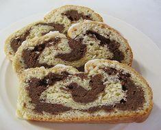 Bremer Wickelkuchen or Wickel Cake - special cake from the German city Bremen. #authenticgerman