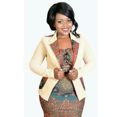 kitenge designs Kitenge high waist min skirt and off shoulder crop top with blazer kitenge mixed made by MarDesTz Model :Kizyallah Tossiry Latest African Fashion Dresses, African Dresses For Women, African Print Dresses, African Print Fashion, African Attire, Women's Fashion Dresses, Ankara Fashion, African Men, Africa Fashion
