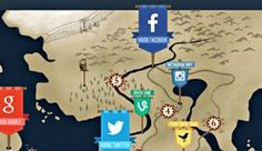 Social Media Wars Told in Game of Thrones Style [INFOGRAPHIC]