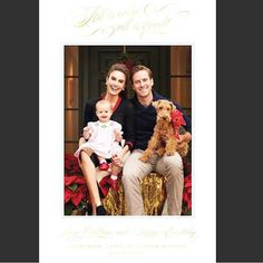 The Best Celebrity Christmas Cards of 2015 Elizabeth Chambers and Armie Hammer