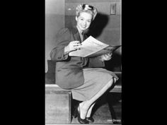 """June Christy...""""Wrap your Troubles in Dreams"""" such a great voice."""