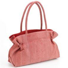 Carlos Falchi Classic Red Python Bag db29f5ad097bb