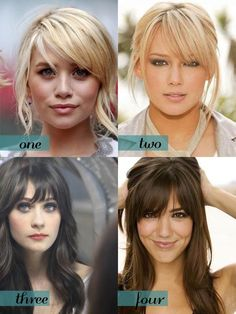 I'm thinking about bangs... what do you think? via SparkleMeetsPop.com