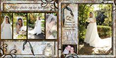 2 page Wedding layout idea