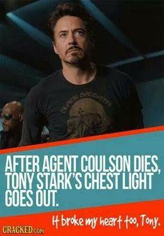 Robert Downey Jr ~ Tony Stark's Chest Light