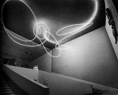 """Lucio Fontana, """"Luce spaziale"""", 1951"""