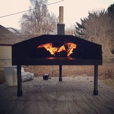 Fire it up. #uuni #uunified wood-fired pizza oven