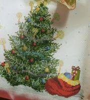 Professione Donna: Schema gratis a punto croce: L'albero di Natale