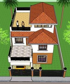 Signed and sealed House Plan for New House Construction, Building Permit or Housing Loan Requirement- Lou Angeli Ibe – Insurance and Loans 3 Storey House Design, House Roof Design, Bungalow House Design, Small House Design, Dream Home Design, House Layout Plans, Modern House Plans, House Layouts, Commercial Building Plans