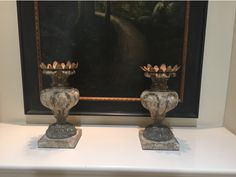 """The Sawyer Candlestick earned the distinctive Designers Choice! This large European inspired candlestick with hand aged and painted sufaces to reflect the time worn feel of antique pieces.  Stands almost 12"""" tall and is perfect in so many areas of the home."""