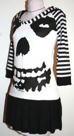 Misfits hoodie dress.