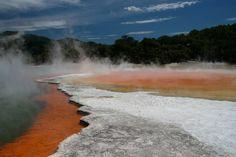 Champagne Pool, Rotorua #NewZealand #HotSpring