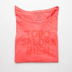 Todo saldrá bien Todo saldrá bien #Fashion #ThinkingMU #Woman #Clothes #Smile #Red #Shirt #Good #Smile #Camiseta #Love #Lovely  #Alright #Positivism #Optimism #Optimismo #Positividad #Sonrisa #Sol #Verano #Summer