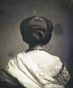 Woman Seen from Back. Onésipe Aguado. 1861.