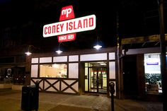 MP Coney Island - in New Castle, PA - nothing like the coney dogs you get in Michigan!