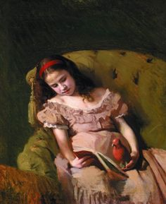 Ivan Nikolayevich Kramskoy- Books got her, (1872).Oil on canvas, 54 x 47 cm.The Kramskoy Museum of Fine Arts,Voronezh,Russia.