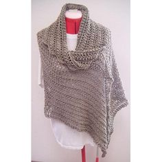 """It is crocheted from bottom to top, asymmetrical, trapezium wrap. Increases were made at both ends and are staggered. It can be worn in different ways; turn it 180 or as a poncho. Sizes are 34"""" to 36"""", 38"""" to 40"""" and 42"""" to 44"""". Any yarn will be great as long as the wrap turns out drapey. Any colours will be great too.My gauge: 2"""" = (dc, ch2) 4 times x 4.5 rowsMeasurements: 34"""" to 36"""" – Top 71"""" x Bottom 21"""" x Height 28"""", armhole 7"""" 38"""" to 40"""" – Top 75"""" x Bottom 25"""" x Height 28"""", armhole 9""""…"""