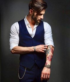 Mens Fashion Hipster – The World of Mens Fashion Mode Hipster, Estilo Hipster, Hipster Outfits Men, Hipster Fashion, Hipster Suit, Style Fashion, Best Poses For Men, Blue Suit Men, Designer Suits For Men