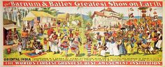 's offers 550 of sculptures, clocks, an old collection of Chinese soapstone, toys, historic Americana and and early posters. Circus Room, Vintage Circus Posters, Barnum Bailey Circus, Worlds Largest, Folk, Elephant, History, Antiques, Painting