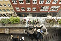 Original Coffee Illum / coffee on a rooftop