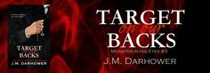 Cover Reveal: Target on Our Backs (Monster in His Eyes #3) by JM Darhower